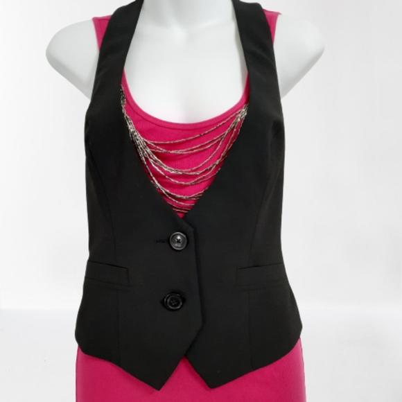 Express Design Studio Black Vest